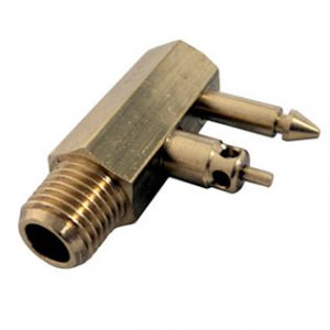 Yamaha male brass fuel connector
